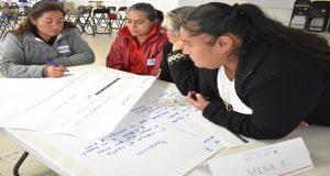 Sedesol da taller del Programa Seguro de Vida para Jefas de Familia