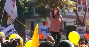 Alejandra Barrales es precandidata del PRD por jefatura de CDMX