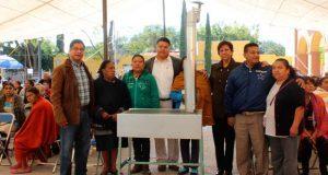 Entregan 200 estufas ecológicas en Santiago Miahuatlán
