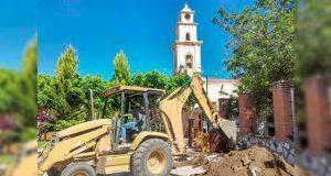 Comuna de Cuayuca anuncia reconstrucción de atrio de San Pedro