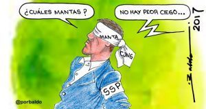 Caricatura: La inseguridad que no se quiere ver