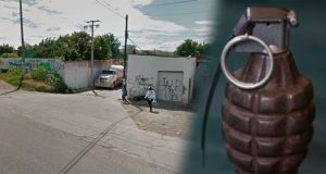 En Izúcar, hallan granada de uso militar abandonada en la calle