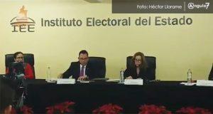 Partidos revientan sesión de IEE para no aprobar reglas de paridad de género