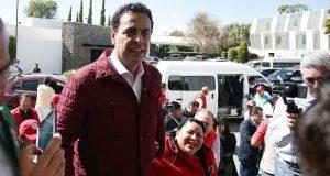 Puebla no está negociada con el PAN