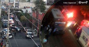 Balacera en barrio de Santiago deja una mujer muerta y otra atropellada
