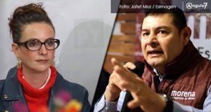 Armenta y de la Sierra amagan con no comparecer en comisión de Morena Puebla