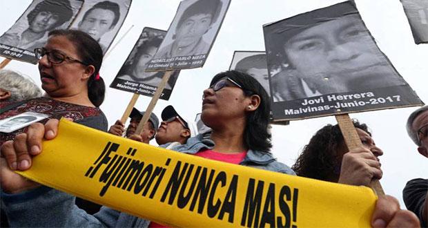 Organizaciones internacionales se pronuncian contra indulto a Fujimori
