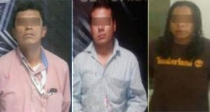 Asegura SSP a ocho hombres por diversos hechos ilícitos, en Puebla