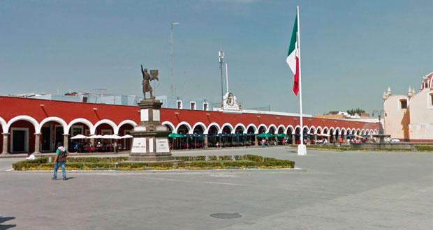 San Pedro Cholula autoriza a vendedores de semillas y artesanos