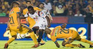 Tigres aplasta 3-0 al América y es primer finalista del Apertura 2017. Foto: Especial.