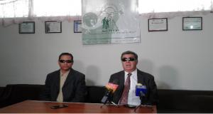 Asociación de invidentes exigen trabajos a empresarios poblanos