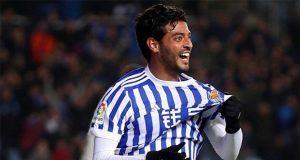 Carlos Vela se despide de la Real Sociedad, anotó el 3-1 al 90'