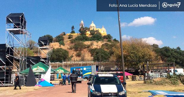 Conciertos en zona arqueológica de Cholula atentan contra patrimonio, acusan