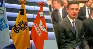 El frente le reparte tres diputaciones federales al PRD de Puebla