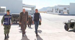 Gali y Cienfuegos supervisan progreso de la Industria Militar