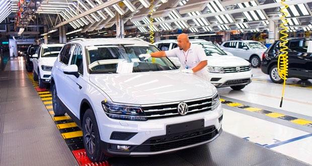 Producción de Volkswagen México aumenta 13% respecto a 2016