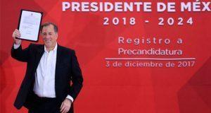 Meade es precandidato del PRI a Presidencia