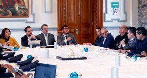 Puebla comparte estrategia de seguridad a SSP de Aguascalientes