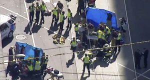 Automóvil atropella a personas en Australia y deja 19 heridos