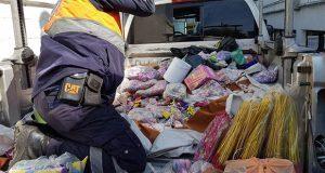 PC decomisa 500 kg de pirotecnia en mercados Morelos e Independencia