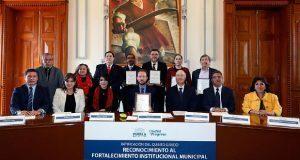 Por quinta vez, reconocen a Puebla por atención a sus ciudadanos