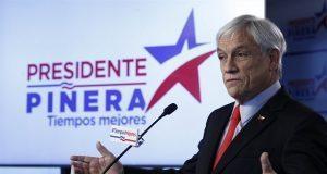 En segunda ronda, Sebastián Piñera gana presidencia de Chile