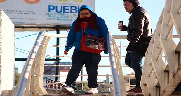 Emiten declaratoria de emergencia en 17 municipios de Puebla por heladas