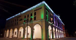 Inauguran segunda etapa de palacio municipal de Ahuatempan