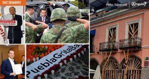 En diciembre asesinan a 7 mujeres en Puebla y reconstrucción del CH al 50%