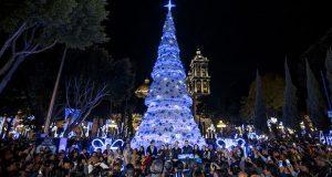 En 2017, rompe récord la capital poblana con atracciones navideñas