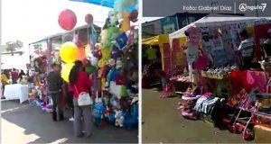 Tianguis de juguetes y tiendas departamentales, abarrotados por Reyes Magos