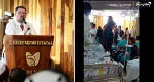 Reconocen sobrecupo del 460% en urgencias de IMSS La Margarita tras sismo