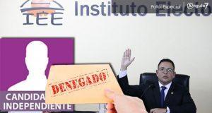 Recibe IEE 12 quejas contra reglas a independientes; negaría prórroga
