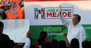 INE ordenaría a PRI quitar nombre de Meade a coalición electoral