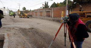 Pavimentación en Hueyotlipan beneficiará a más de 400 familias: Banck