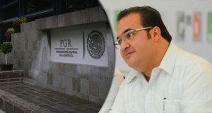 PGR indaga a Javier Duarte en CNBV
