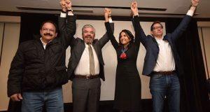 Tras ganar encuesta, Barrales sería candidata del Frente a CDMX