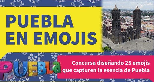 Concurso describe a Puebla en emojis