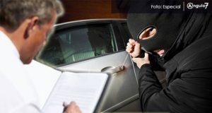 Con 4 mil 99 robos a vehículos asegurados, Puebla es 5º lugar con más casos