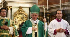 Seguridad pública, tema en el que aún se debe trabajar: arzobispo