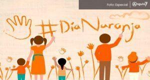 "Celebran primer ""Día Naranja"" para prevenir violencia contra mujeres"