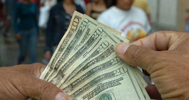 De enero a noviembre, remesas en México con aumento del 6.15%