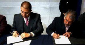 Dirección general de Ceresos de Puebla firma convenio con AA