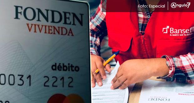 Sedatu detecta duplicidad de tarjetas para reconstrucción por sismo en Puebla