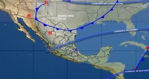 Por frente frío 23, bajas temperaturas seguirán 3 días: SMN.