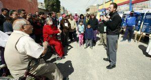 Arrancan pavimentación de 3 vialidades en San Baltazar Campeche