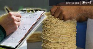 Multas hasta de 1 mdp a tortillerías que suban precio en Puebla: Profeco