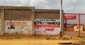 Partido venezolano rechaza haber realizado pintas en apoyo a AMLO