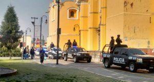 San Pedro Cholula reporta saldo blanco durante Guadalupe-Reyes