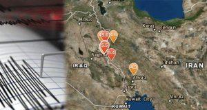 Frontera entre Irán e Irak es azotada por ocho sismos en un día